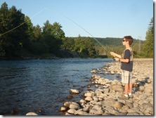 Fly fishing with Ben 015