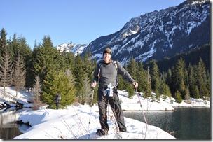 Gold Creek Snowshoeing 069