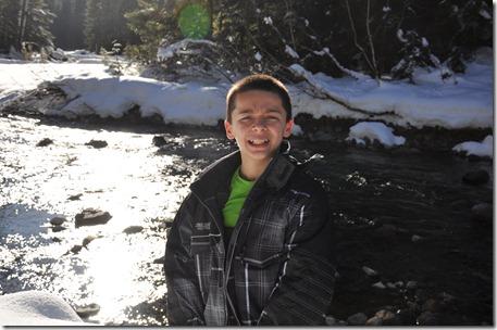 Gold Creek Snowshoeing 183