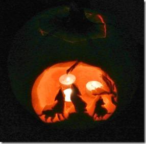 Jack Pumpkin and slow motion 031